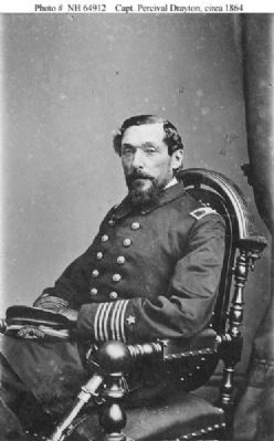 Capt. Percival Drayton, USN Photo, Click for full size