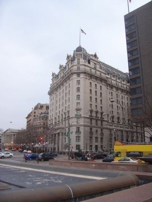 Willard Inter-Continental Hotel Building, 14th St. and Pennsylvania Ave. image. Click for full size.