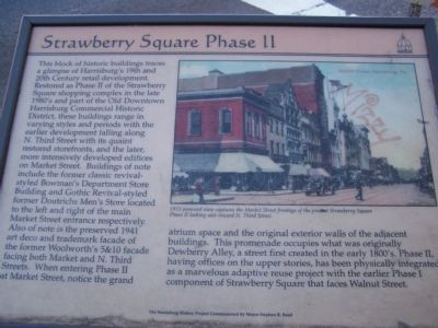 Strawberry Square Phase II Marker image. Click for full size.