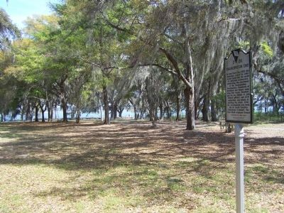 Emancipation Day �Camp Saxton Site Marker Photo, Click for full size