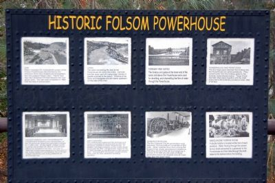 Pictorial History of Folsom Powerhouse image. Click for full size.