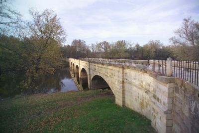 C&O Canal Monocacy Aqueduct Photo, Click for full size