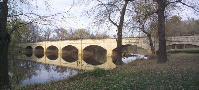 The Seven Arches of the Monocacy Aqueduct Photo, Click for full size
