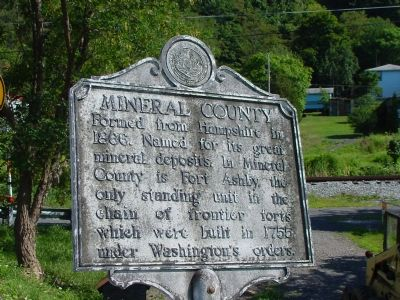 Mineral County Face of Marker image. Click for full size.