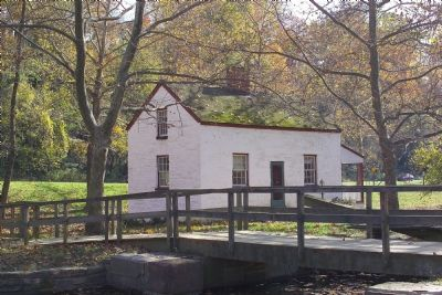 C&O Canal Locktender's House at Lock 6 Photo, Click for full size