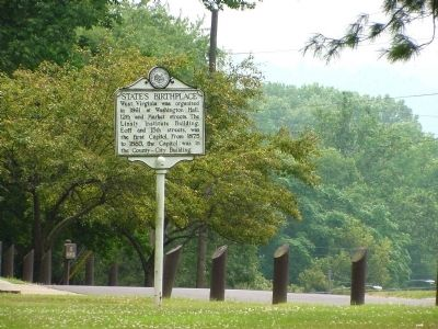 State's Birthplace Marker image. Click for full size.