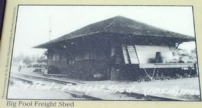 Big Pool Freight Shed image. Click for full size.