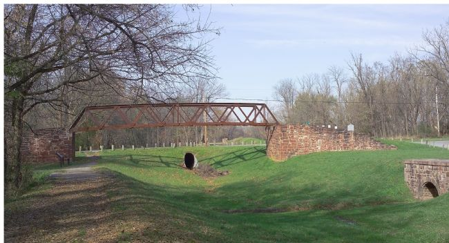 White's Ferry Road Crosses the C&O Canal image. Click for full size.
