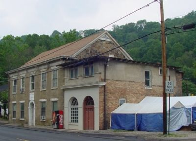 Former Heimberger House, Now Known as the Old Stone House image. Click for full size.