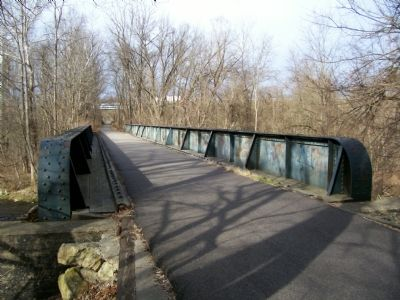 Bridge over Raccoon Creek image. Click for full size.