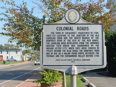 Colonial Roads Marker image. Click for full size.