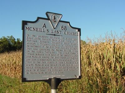 McNeill's Last Charge Marker image. Click for full size.