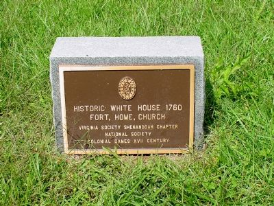 Historic White House Tablet image. Click for full size.