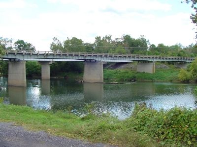 Current U.S. 211 River Crossing Photo, Click for full size