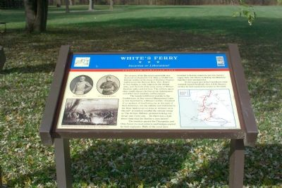 White�s Ferry Marker image. Click for full size.