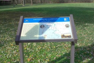 Gettysburg Campaign Marker Photo, Click for full size