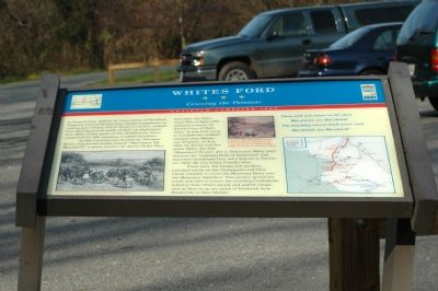 White's Ford Marker image. Click for full size.