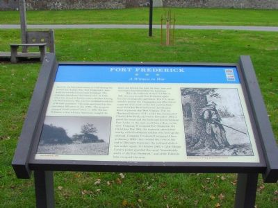 Fort Frederick Marker Photo, Click for full size
