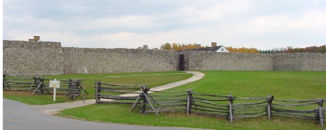 Fort Frederick Entrance Photo, Click for full size