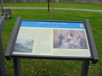 Nathan Williams ~ A Prosperous Farm Marker Photo, Click for full size