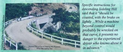 Marker Detail: National Pike at Foot of Sideling Hill Mountain Photo, Click for full size
