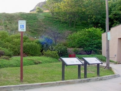 National Road and Sideling Hill Markers Photo, Click for full size