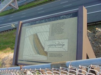 Sideling Hill Cut South Bench Marker image. Click for full size.
