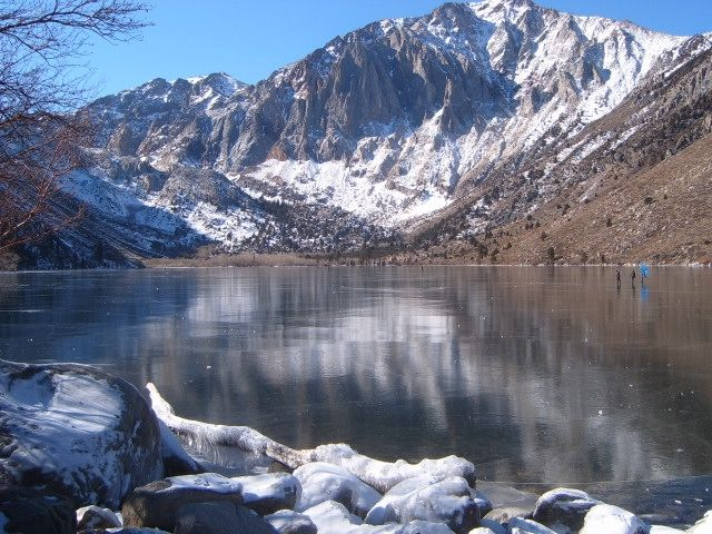 Convict Lake Photo, Click for full size