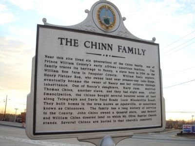 The Chinn Family Marker Photo, Click for full size