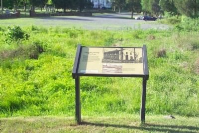 Marker, with Sudley Methodist Church in the Distance image. Click for full size.