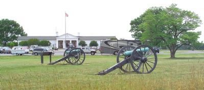 The Manassas National Battlefield Park Visitors Center North of Manassas Photo, Click for full size
