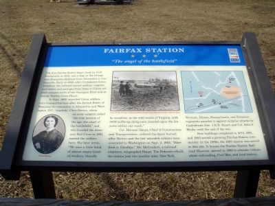 Fairfax Station Marker image. Click for full size.