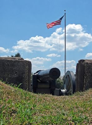 The Reconstructed Fort Stevens Photo, Click for full size