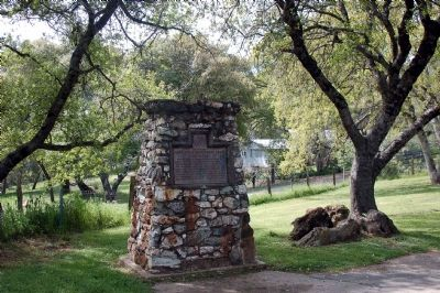 Mark Twain Cabin Marker Photo, Click for full size