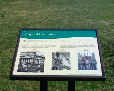 Capitol Columns Marker image. Click for full size.