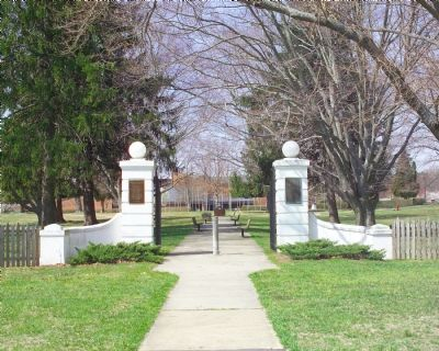 Charlotte Hall School Main Gate image. Click for full size.
