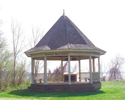 Margaret Brent Garden Gazebo image. Click for full size.