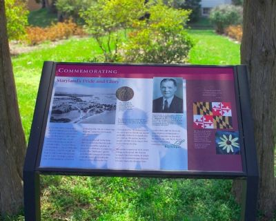 Commemorating Maryland's Pride and Glory Marker image. Click for full size.