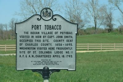 Port Tobacco Photo, Click for full size