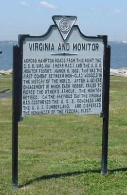 <i>Virginia</i> and <i>Monitor</i> Marker image. Click for full size.