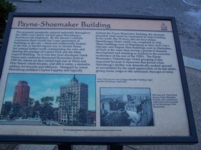Payne-Shoemaker Building Marker image. Click for full size.