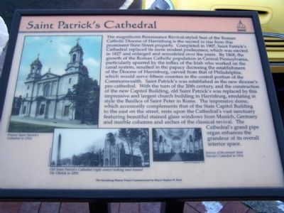 Saint Patrick's Cathedral Marker image. Click for full size.