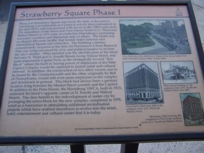 Strawberry Square Phase I Marker image. Click for full size.