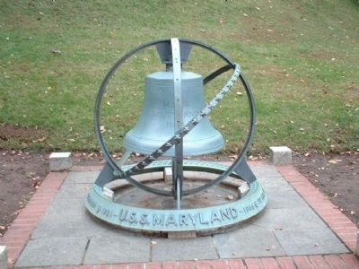 USS Maryland Marker image. Click for full size.