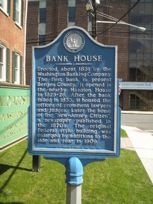 Bank House Marker image. Click for full size.