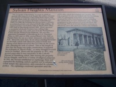 Sylvan Heights Mansion Marker image. Click for full size.