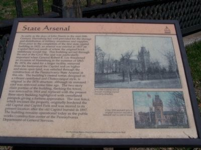 State Arsenal Marker Photo, Click for full size