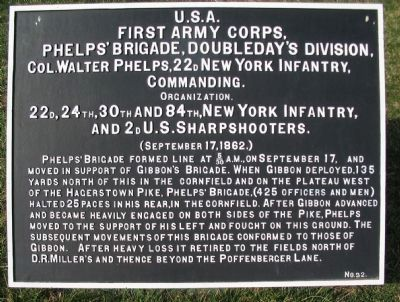Phelps' Brigade Tablet image. Click for full size.