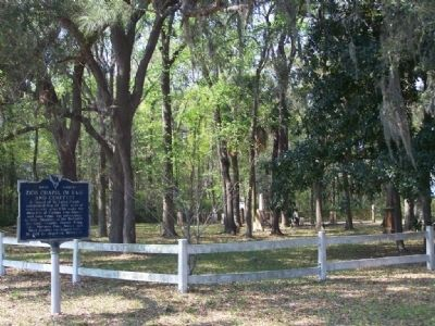 Zion Chapel of Ease and Cemetery Marker Photo, Click for full size