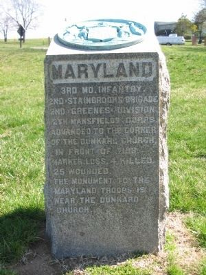 3rd Maryland Monument image. Click for full size.